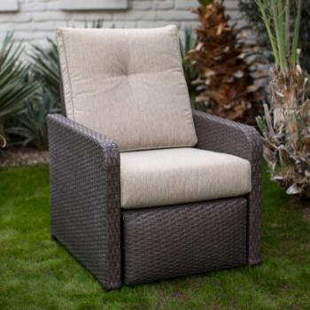 Coral Coast Westerland Outdoor All Weather Wicker Recliner