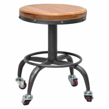 Pangea Home Gary Adjustable Height Stool