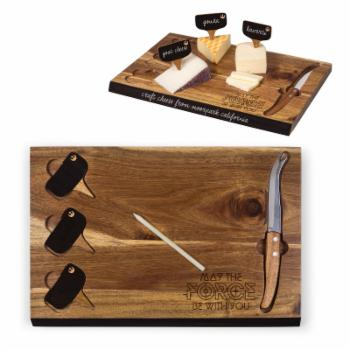 Picnic Time Star Wars Rebel Army Delio Acacia Cheese Board & Tools Set