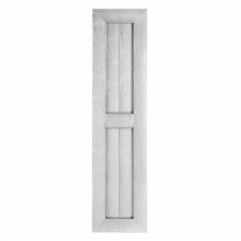 Perfect Shutters 15W in. Country Style Vinyl Shutters