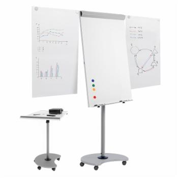 Paperflow USA Rocada Transformer Multi-Functional Flipchart with Dry Erase Board