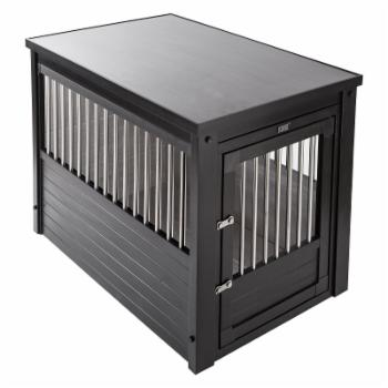 New Age Pet ecoFLEX Pet Crate/End Table - Espresso