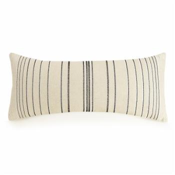 Embroidered Stripe Decorative Pillow by Ayesha Curry
