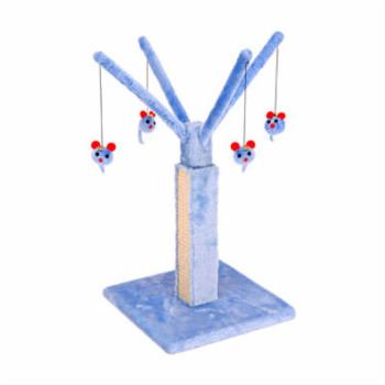 Penn Plax Blue Cat Playtree with Scratch Post