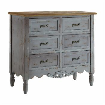 Powell Piper 6 Drawer Hall Chest