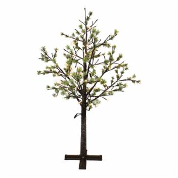 Puleo International 6.5 ft. Warm White LED Pre-Lit Artificial Tree