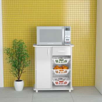Polifurniture Compact Kitchen Storage Cabinet