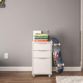 Polifurniture Durban Three Drawer File Cabinet