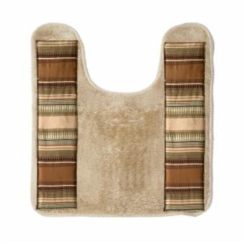 Willow Arlo Interiors Contempo Bath Contour Rug - Natural