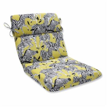Pillow Perfect Herd Together Wasabi Rounded Corners Chair Cushion