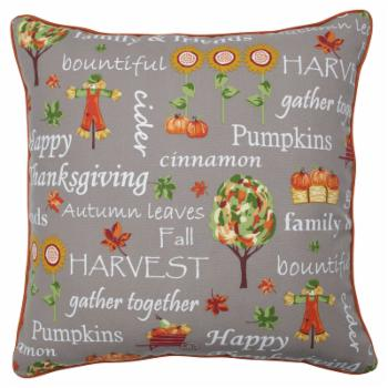 Pillow Perfect Autumn Harvest Haystack Indoor/Outdoor Decorative Floor Pillow