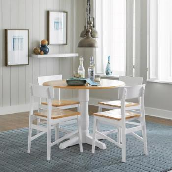 Progressive Furniture Christy Complete 40 in. Round Dining Table