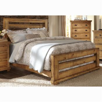 Progressive Furniture Willow Slat Panel Bed