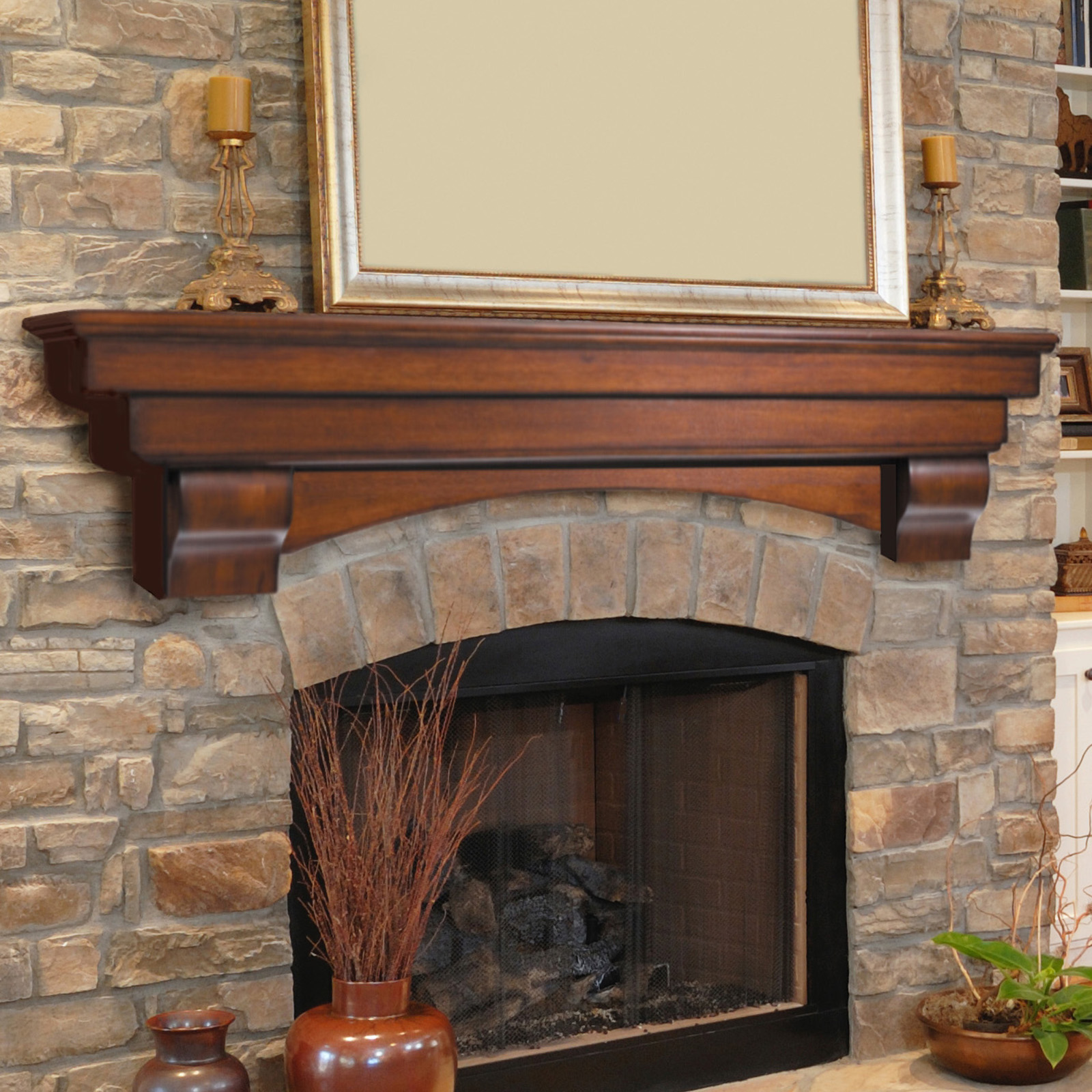 fireplace shelf to diy your decorate mantel tips live edge and