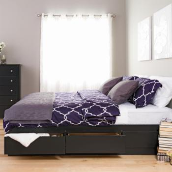 Prepac Basic Storage Platform Bed
