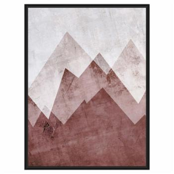 PTM Images Brown Mountains Wall Art