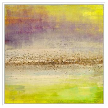 PTM Images Refraction Horizon 1 Framed Canvas Wall Art