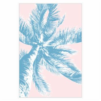 PTM Images Retro Palms 2 Framed Canvas Wall Art