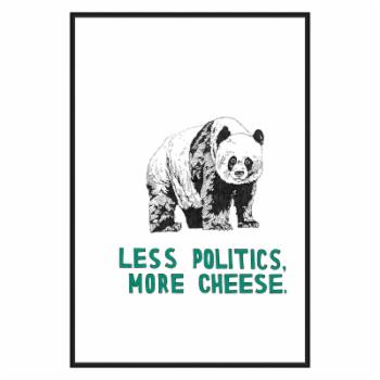 PTM Images Panda Framed Canvas Wall Art