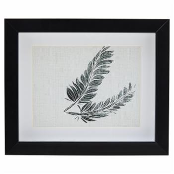 Feather Framed Wall Art by Drew Barrymore Flower Home