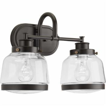 Progress Lighting Judson 2 Light Bathroom Vanity Light