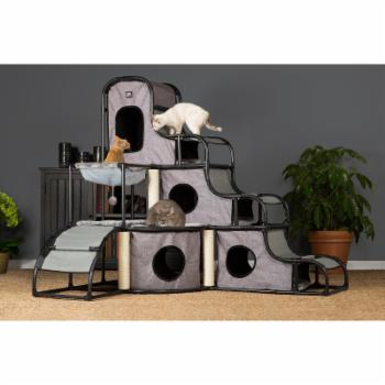 Prevue Pet Products Catville Tower - Gray