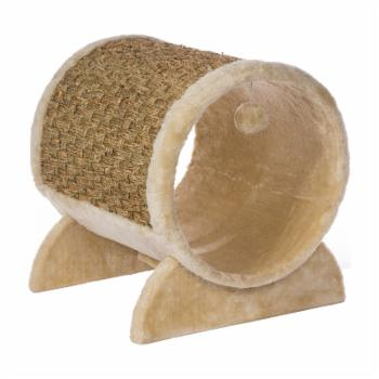 Prevue Pet Products Kitty Power Paws Plush Cozy Tunnel Scratching Post
