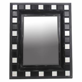Privilege International Beveled Rectangle Wall Mirror - 39W x 48H in.