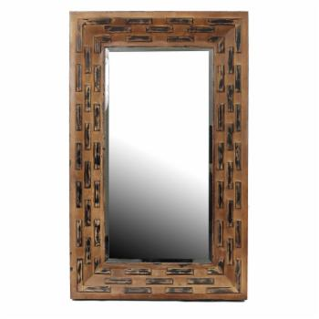 Privilege International Reclaimed Wall Mirror - 28W x 47.5H in.