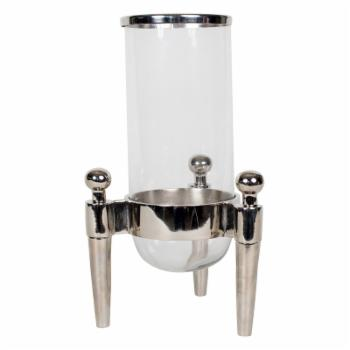 Privilege International 3 Prong Aluminum Lantern - Nickel
