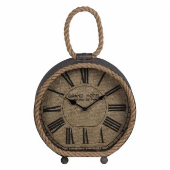 Privilege International Round Table Clock with Rope
