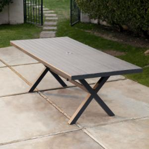 Belham Living Bella All Weather Resin Patio Dining Table