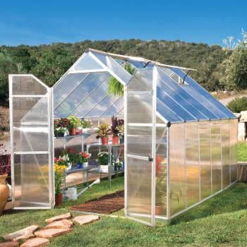 Essence Silver Hobby Greenhouse - 8 x 12 ft.