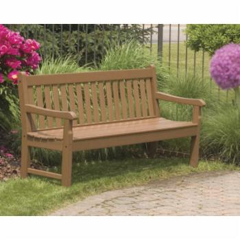 POLYWOOD® Rockford Recycled Plastic Park Bench