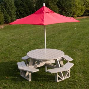 POLYWOOD Picnic Tables Hayneedle - Octagon shaped picnic table