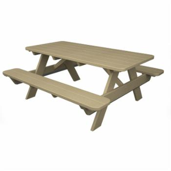 POLYWOOD® Park 6 ft. Recycled Plastic Picnic Table