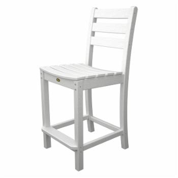 Trex Outdoor Furniture Recycled Plastic Monterey Bay Counter Height Side Chair