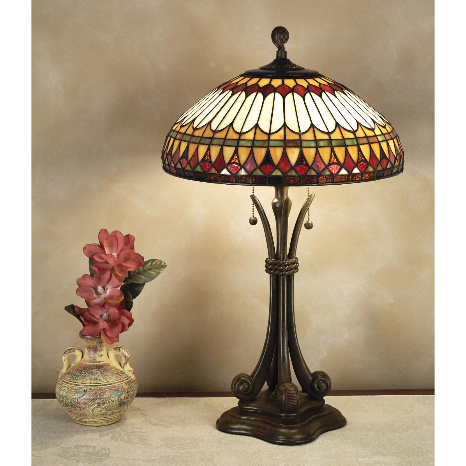 Quoizel West End TF6660BB Tiffany Lamp