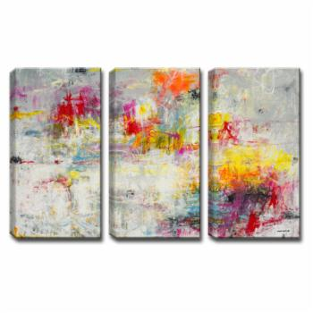 Ready2HangArt Day In The Sun Wrapped Canvas Wall Art - 3 pc. Set