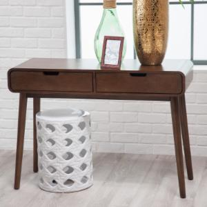 furniture dressing matteo hallway console drawer tables with mirror table venetian itm storage mirrored