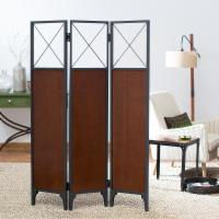 Deals on Belham Living Trenton 3-Panel Room Divider