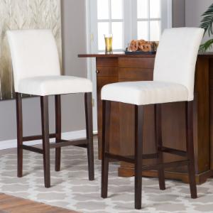 Finley Home Palazzo Extra Tall Bar Stool Set Of 2