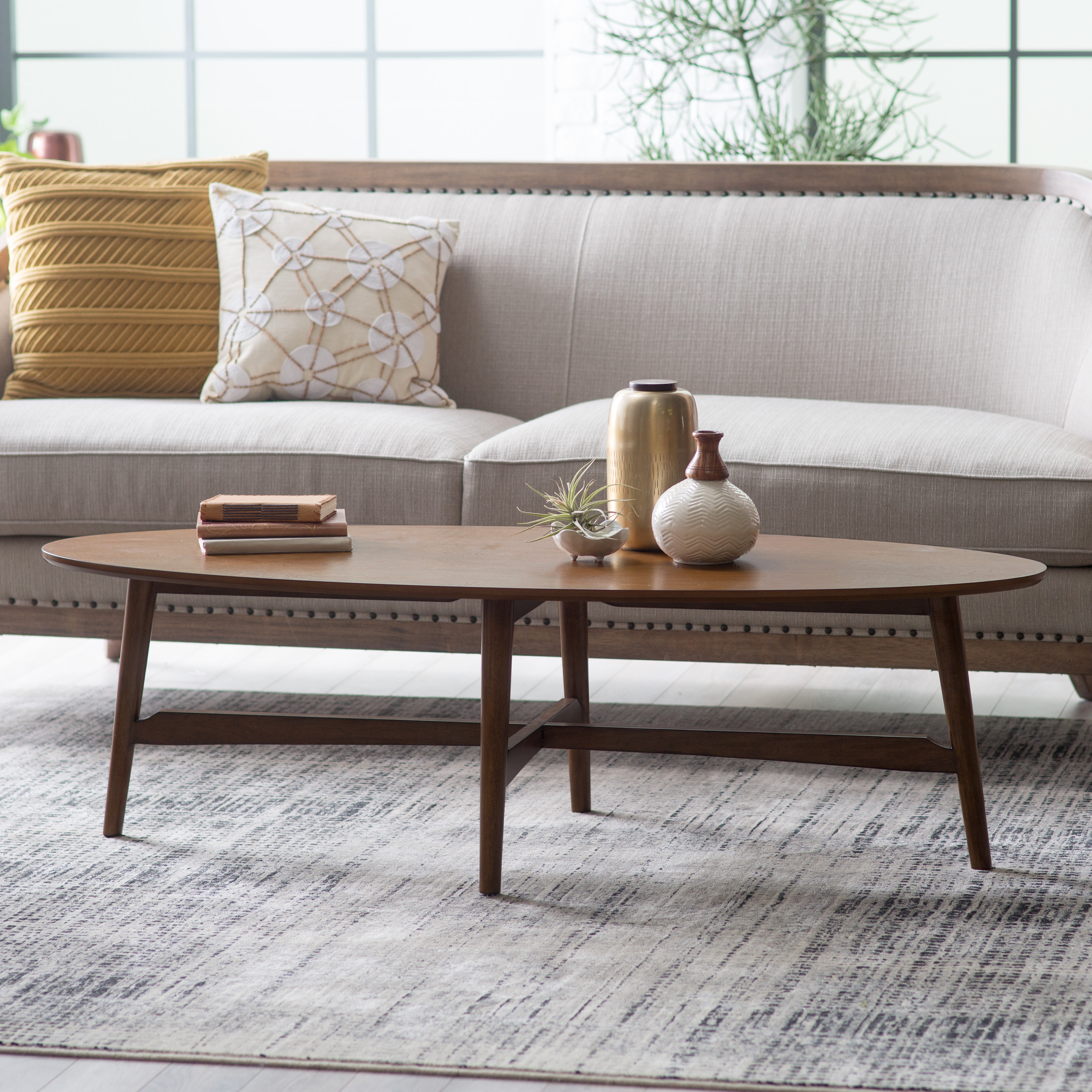 Charming Oval Coffee Tables