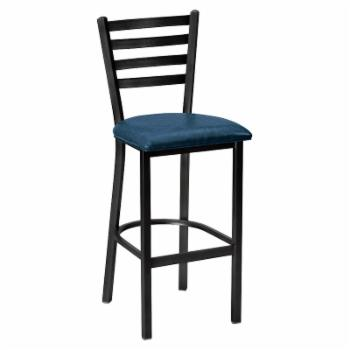 Regal Delano 26 in. Stationary Counter Stool with Vinyl Seat