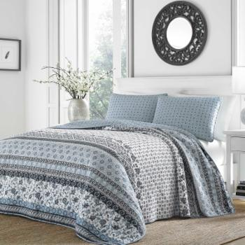 Bexley Cotton Quilt Set by Stone Cottage