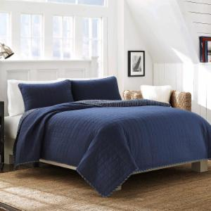cotton quilt set by nautica - Nautical Bedding