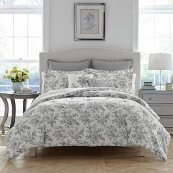 Annalise Floral Comforter Set by Laura Ashley