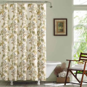 Nador Cotton Shower Curtain by Tommy Bahama