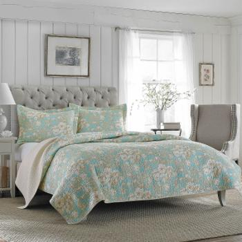 Brompton Quilt Set by Laura Ashley