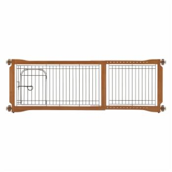 Richell Pet Sitter Freestanding Gate Plus
